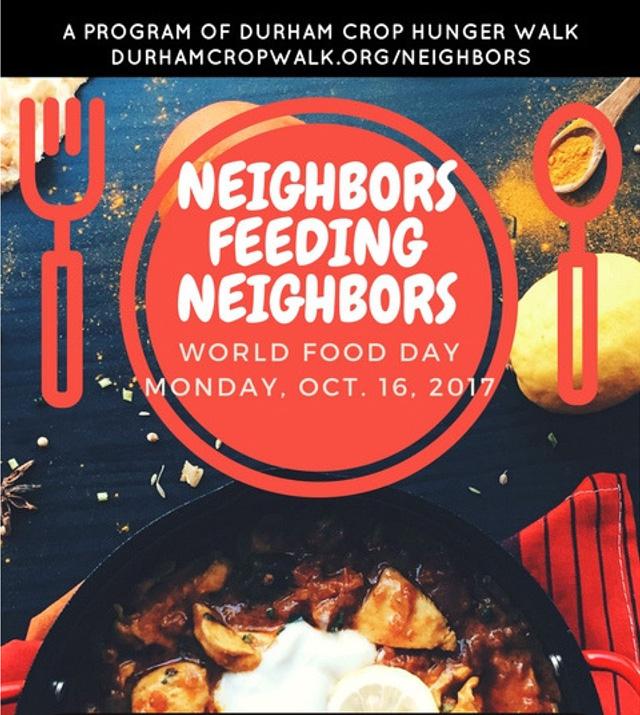 Neighbors Feeding Neighbors